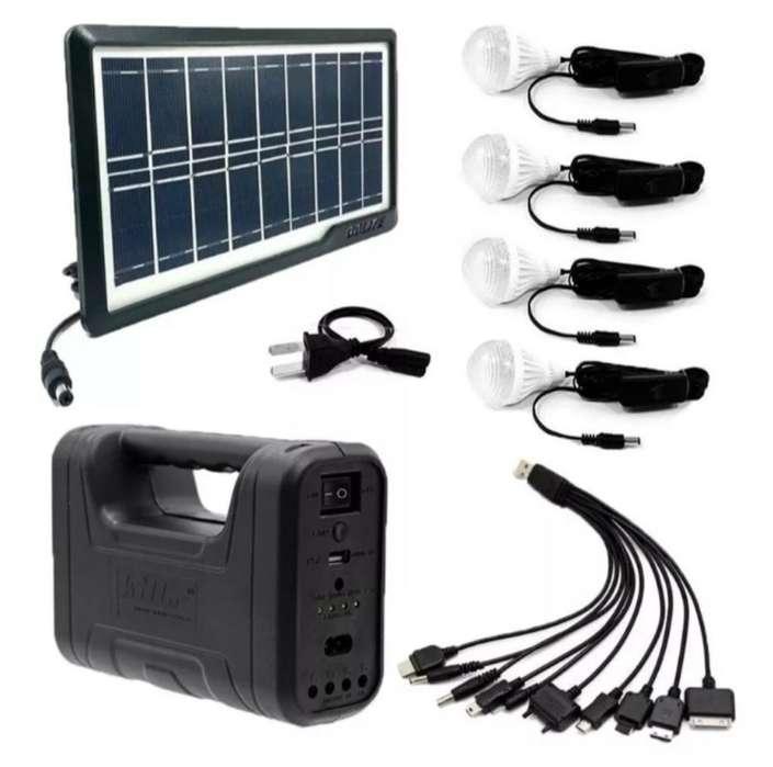 Kit Solar 4 Bombillos