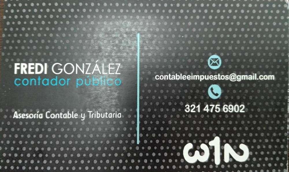 Asesoria contable, administrativa y tributaria. Contador Publico