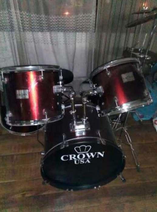 Bateria Acústica Crown
