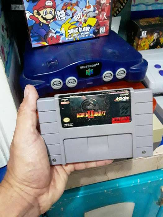 Super Nintendo Snes Nes 64 Wii