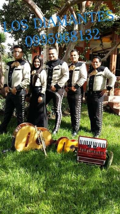 El mejor grupo del ecuador Mariachi los diamantes
