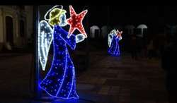 Figuras Navideñas para Alcaldías, Parque