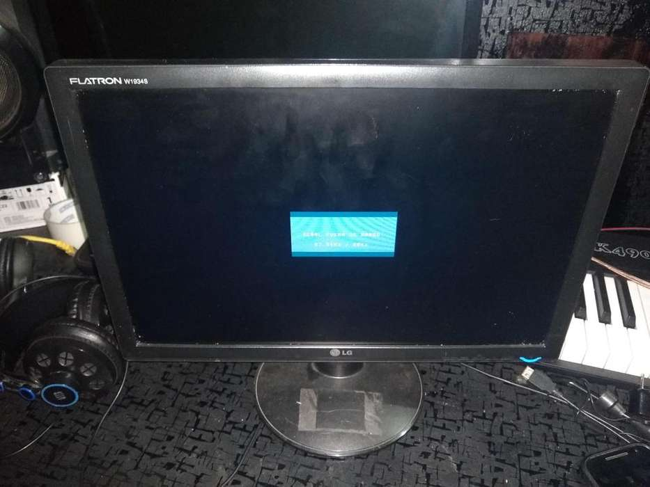Monitor LG Flatron W1934s 19 pulgadas Gangazo