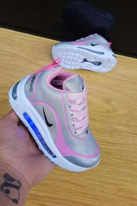 Tenis Nike de Luces desde 21 a 33
