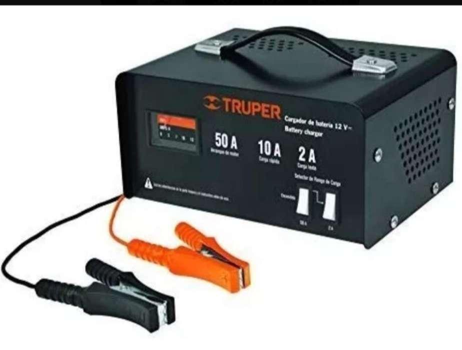 Cargador de Baterias de 50amp Truper