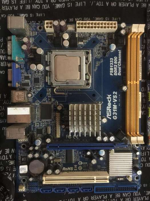 Board AsRock DDR2 - 775