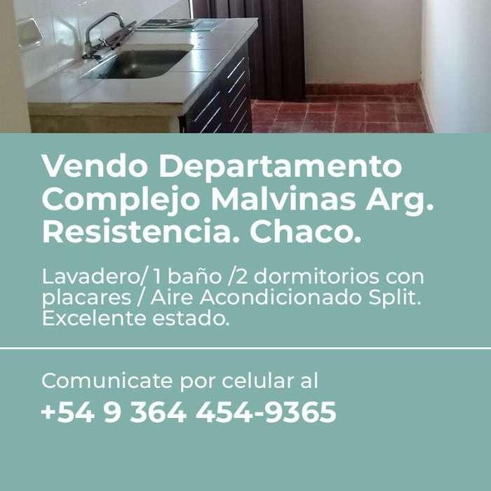 VENDO EXCELENTE DEPARTAMENTO- RESISTENCIA CHACO