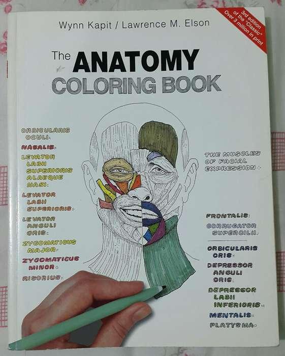 Libro de Anatomía Coloring Book