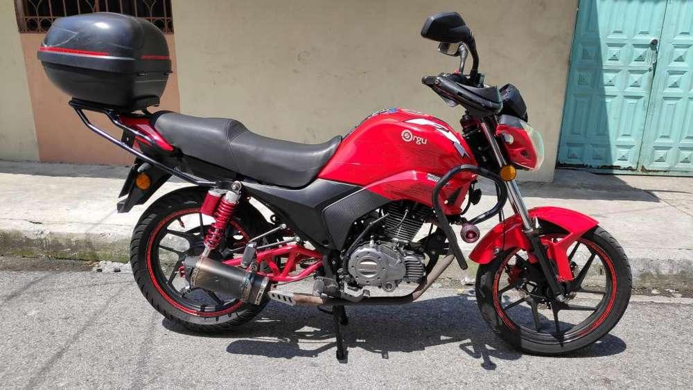 motocicleta 250cc t/deportiva