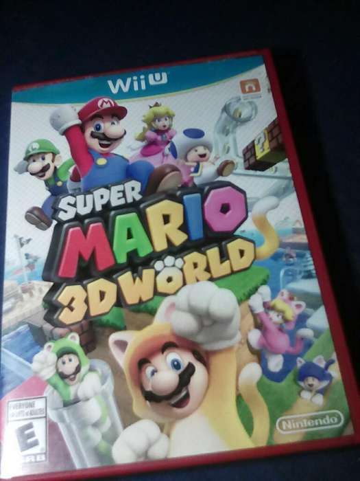 Vendo Super Mario 3d World de Wiiu