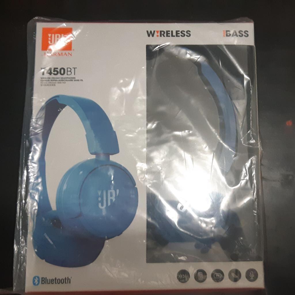 Auriculares Bluetooth Jbl T450bt Nuevos