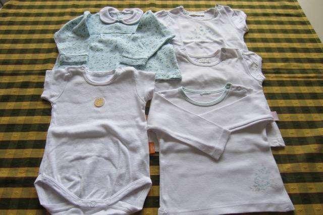 Lote de 5 prendas variadas para beba de 3 a 6 meses, marca <strong>cheeky</strong>!!, MiniMImo!! y otras