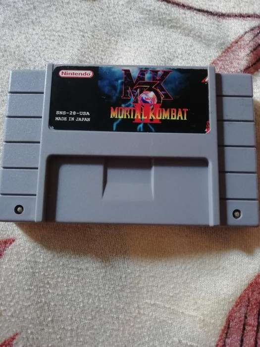 Caset Mortal Kombat 3 Supernintendo
