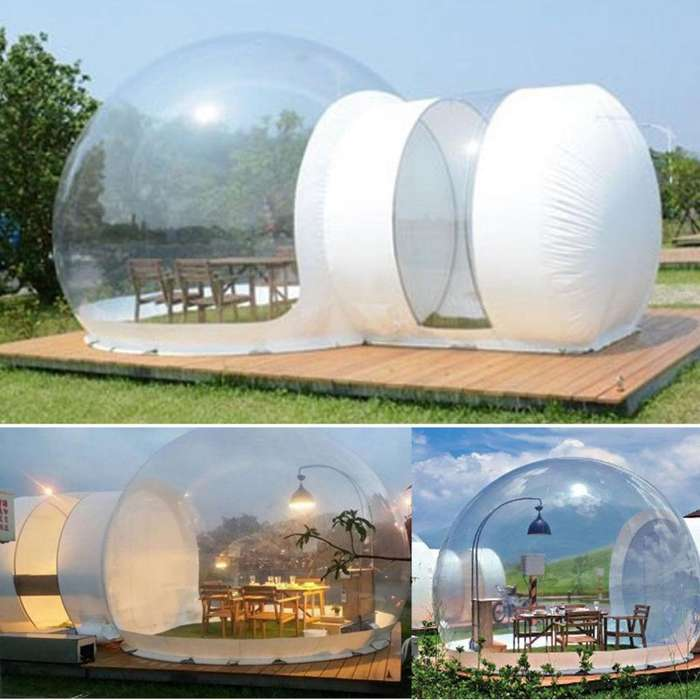 Casa Inflable Hotel Camping Lujo