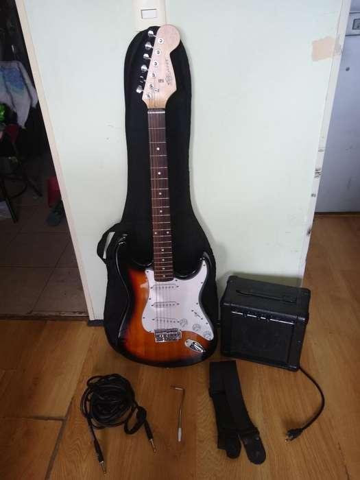 <strong>guitarra</strong> Eléctrica con Amplificador
