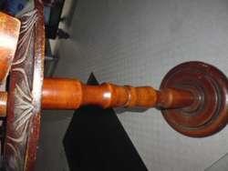 cenicero en madera antiguo de 70cm de alto con el cenicero 3122802858