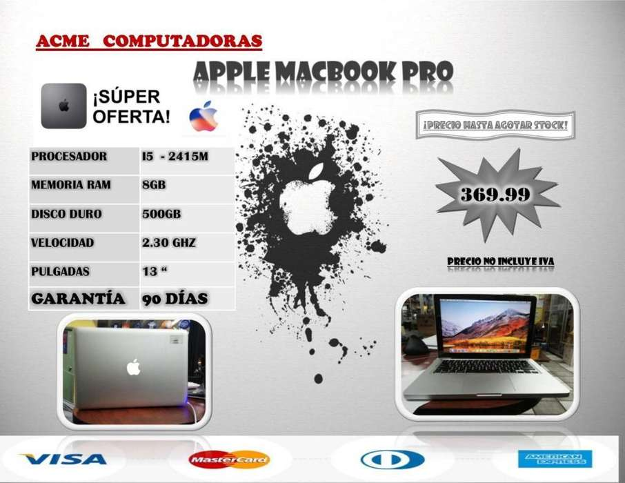 Aplle Macbook Pro Core I5