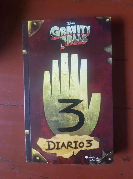 Libro Gravity Falls 3 Diario