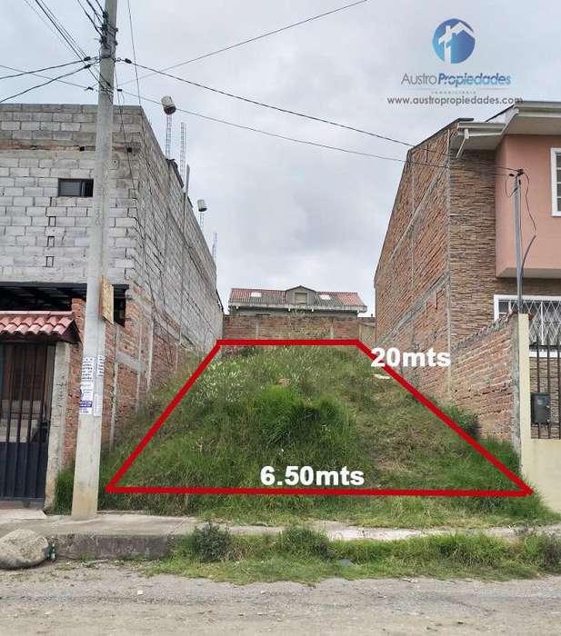 Terrenos en Venta Sector Racar Plaza de 130 metros
