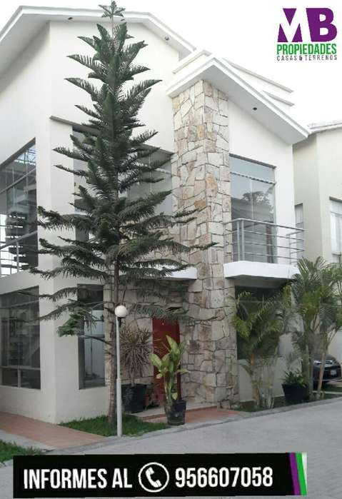 Vendo Bonita Casa en Condominio Cerrado