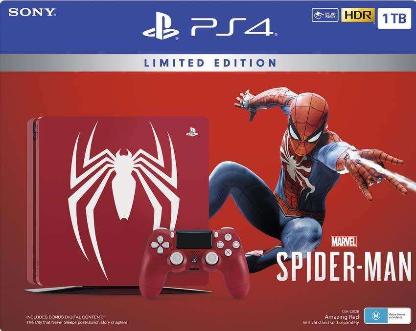 MARVEL SPIDERMAN EDITION LIMITED PS4 PRO
