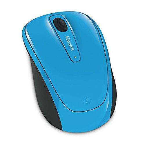 Mouse Ms Mobile 3500 Wlss Cyan