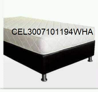 Base cama y colchón de 140x190 Obsequio .Nuevo.Garantizado