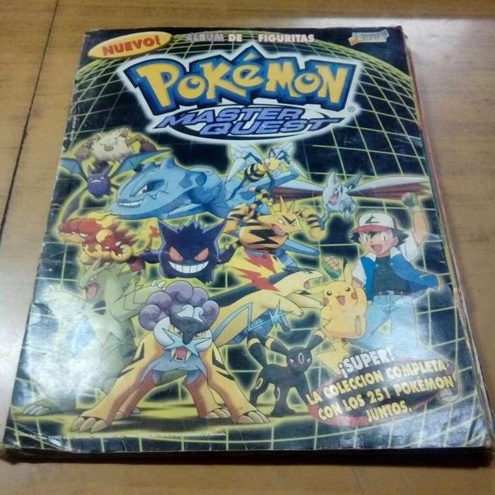 4 Albumes de Figuritas Pokemon