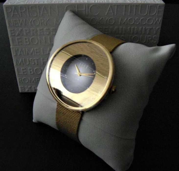 Reloj Elle Time Francés Rubíes Original Exclusivo Nuevo Garantía Bajo el Costo Liquidación