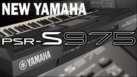 Yamaha PSR S975 Lo último!
