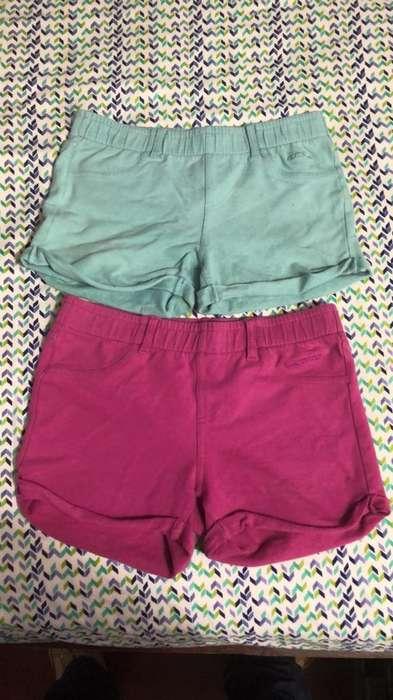 2 Shorts - Niña - Marca Totoo