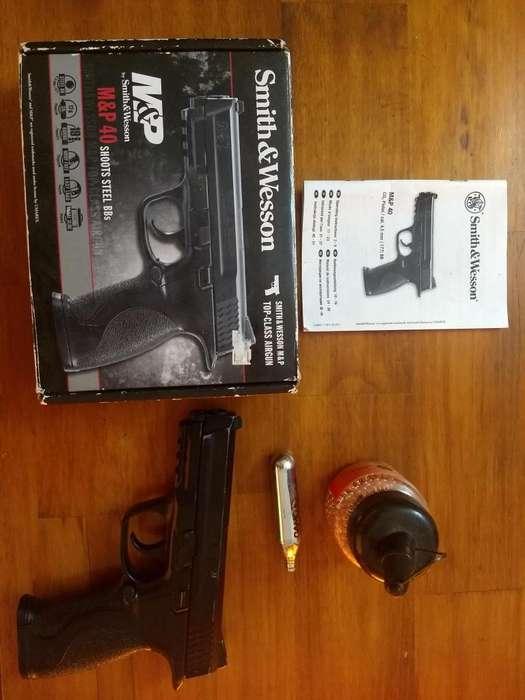 Pistola Co aire camprimido 4,5 mm