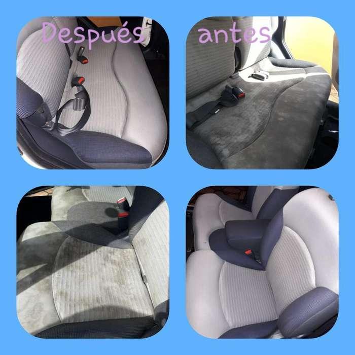Servicio de Limpieza de Auto Full Domici