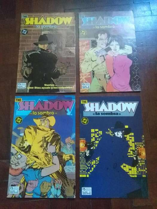 THE SHADOW . LA SOMBRA . OBRA COMPLETA EN 4 REVISTAS DC COMICS 1988