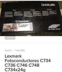 FUSOR XEROX 3635-FUSOR LEXMARK X748 Y FOTOCONDUCTOR C734