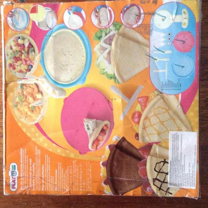 Juego de cupcakes y pancakes/creps x 2