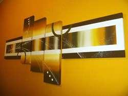 Cuadros decorativos minimalistas abstractos con circulos polipticos tripticos lineas