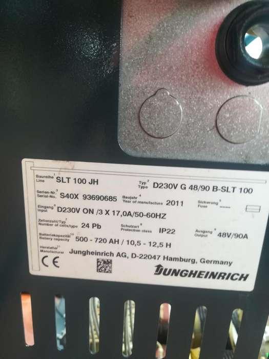 Cargador Batería 48 Vol Montacargas Elec