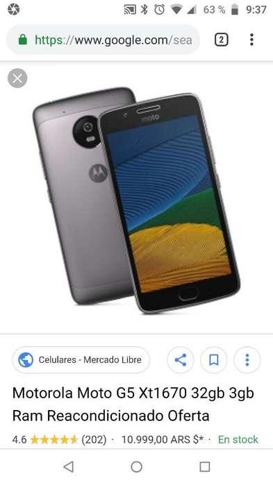 Cambio Mi Motorola G5 por Portátil