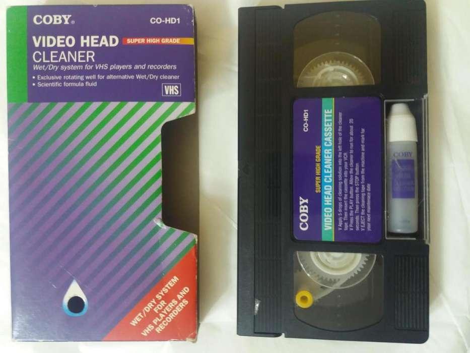 Cassette Limpiador Vhs