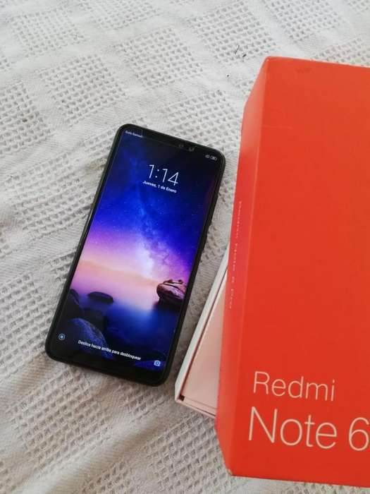 Xiaomi Redmi Note 6 Pro con Garantía