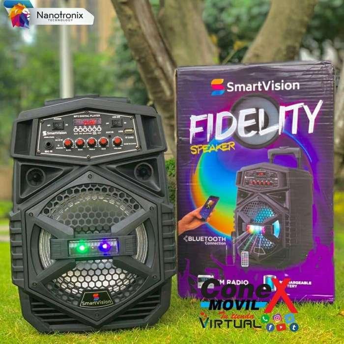 Parlante de 8 Smartvision Modelo Fideli