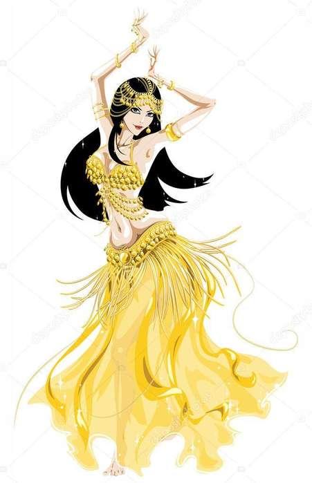 Clases de Danza Árabe para niñas y jóvenes 3123975946