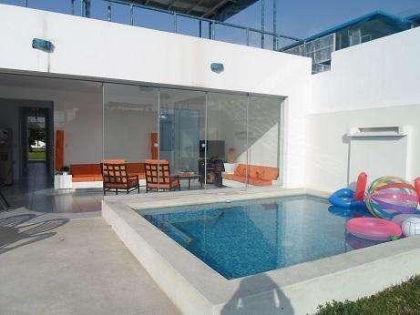 Alquiler de casa de playa para toda la temporada en Condominio Canarias
