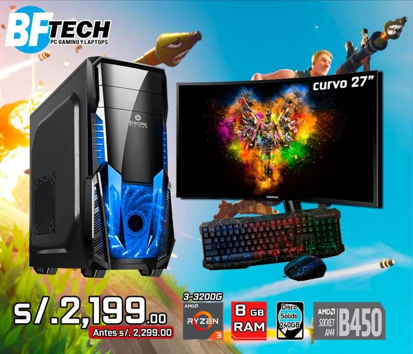 PC GAMING RYZEN 3 3200G 3.6GHz 10