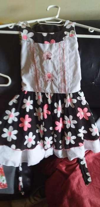 Vestido Semi Nuevos para Niñas De1 A5 Añ