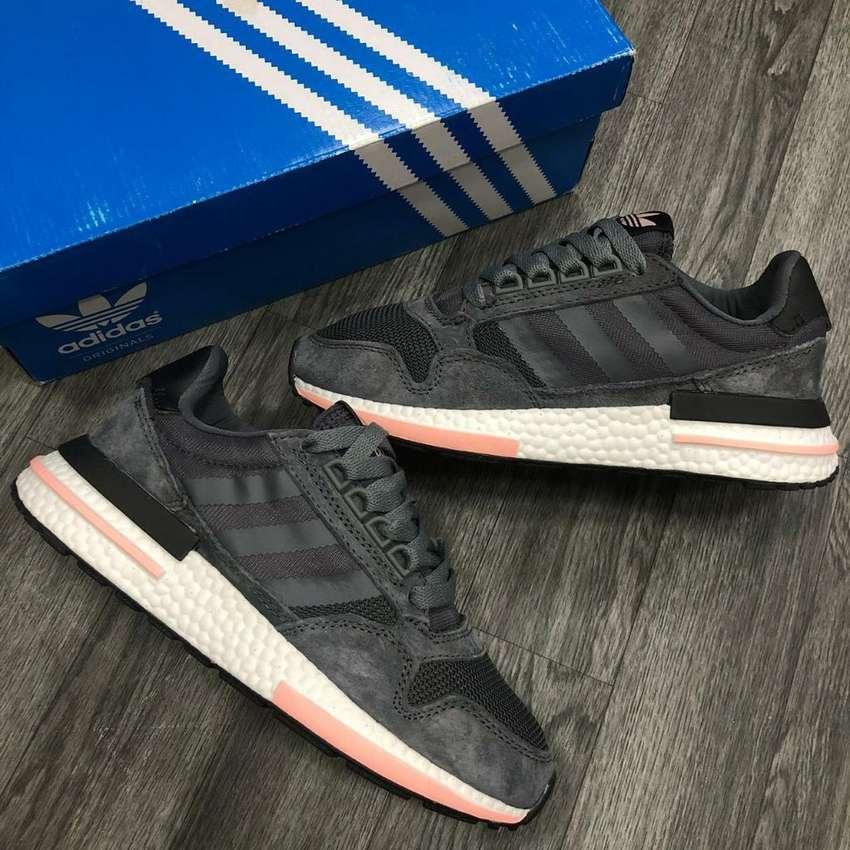 Adidas Zx 500 para Mujer @1 - Zapatos - 1054156535