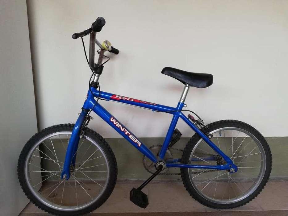 Bicicleta Infaltil Winter Rod.16