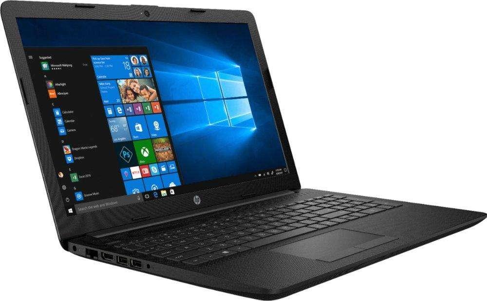 Laptop HP 15.6 AMD Ryzen3 2.5Ghz 8gb Ram DDR4 1TB HDD AMD Radeon Rx Vega 3 DVDRW Teclado numérico Color negro