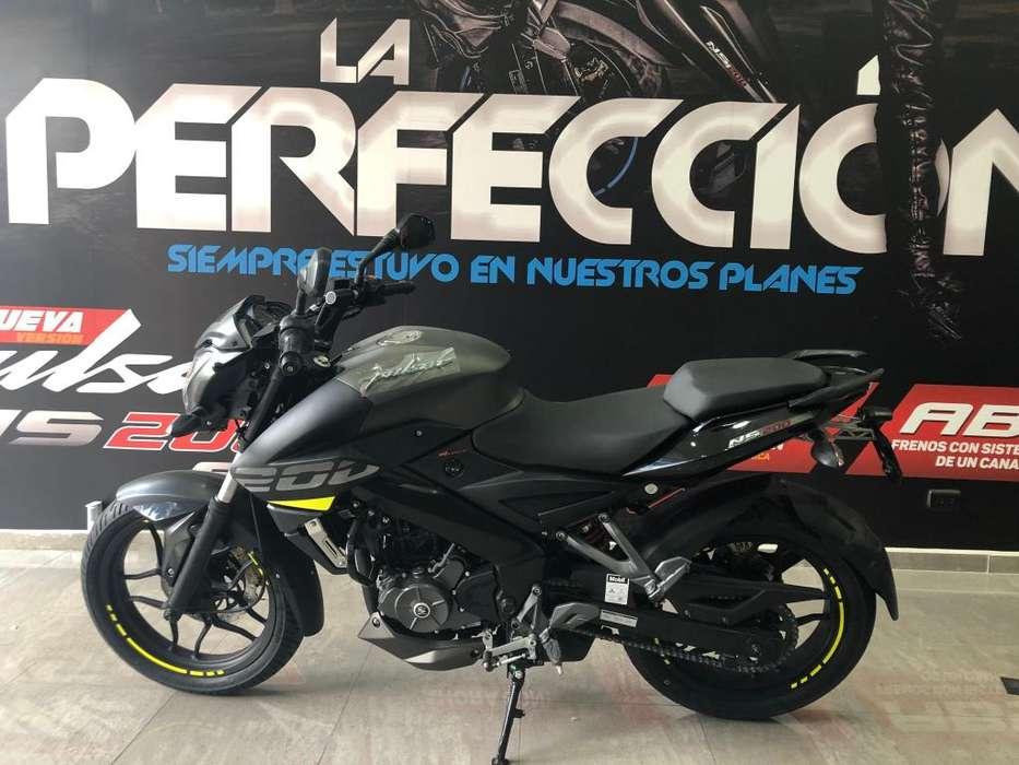 BAJAJ PULSAR 200 NS <strong>nueva</strong> (TODO INCLUIDO)